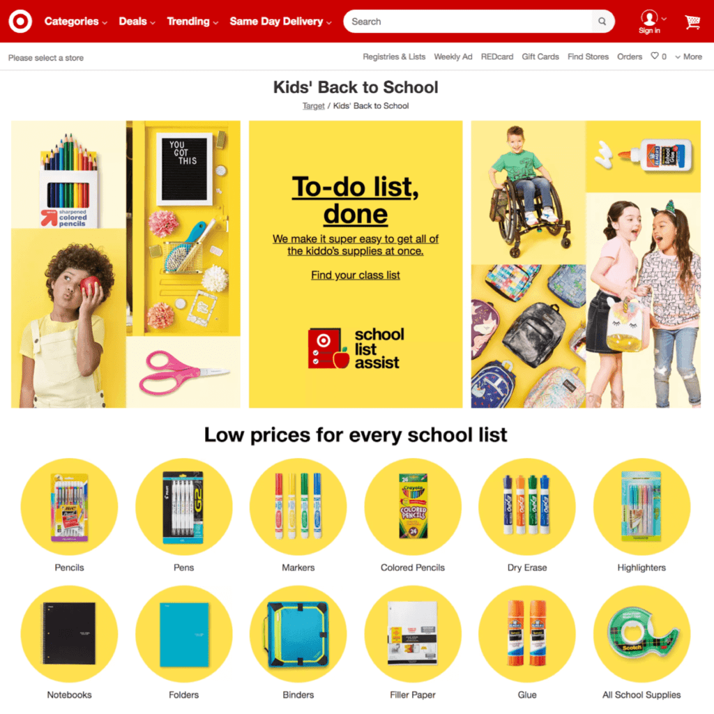 The Best Websites For Back To School Shopping Shop Online From Usa Uk Ship Worldwide